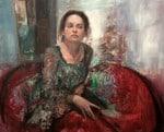 Emmanuelle Gialone, 2011Óleo y Alquídico sobre tela 100 x 81 cm