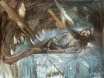 Extracción de la piedra de la locura, 2014 Óleo y alquídico sobre lienzo, 195 x 146 cm