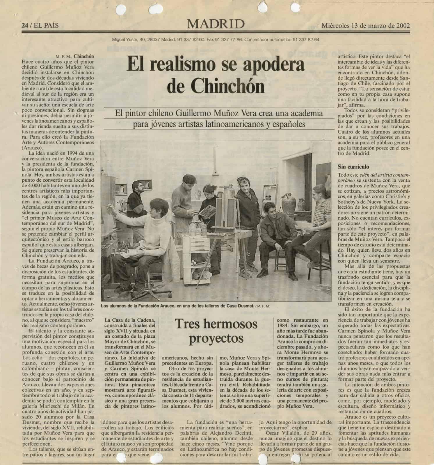 1-Prensa Chinchón Arauco
